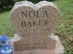 Profile photo:  Nola Baker