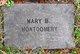 Mary B. Montgomery