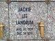 Profile photo:  Jackie Lee Landrum