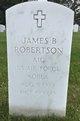 James B Robertson