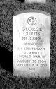 Profile photo:  George Curtis Holder