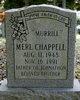 "Merl ""Murrill"" Chappell"