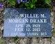 Willie Morgan Drake