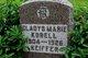 Gladys Marie <I>Keiffer</I> Korell