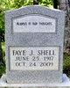 Faye <I>Jones</I> Shell