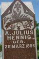 Profile photo:  A. Julius Hennig