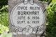 Joyce Ailene Burkhart