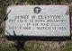James W Clayton