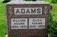 Eliza Ann <I>Walker</I> Adams