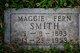 "Margaret Ferne ""Maggie"" <I>Jamison</I> Smith"