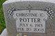 "Christine C ""Chris"" Potter"