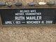 Ruth Mahler