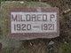 Mildred P. Edison