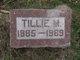 Tillie May <I>Watts</I> Edison
