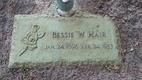 Profile photo:  Bessie Lee <I>Warren</I> Hair