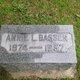 Profile photo:  Annie Louise <I>Rauscher</I> Bassen