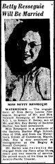 Betty Louise <I>Resseguie</I> Bailey