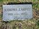 Ramona Jean <I>Underwood</I> Ampey