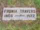 """Sophronia """"Fronia"""" <I>Cosby</I> Travers"""
