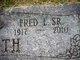 Profile photo:  Fred Leslie Griffith, Sr