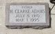 Henry Clarke Adams
