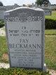 "Profile photo:  Fannie Rebecca ""Fay"" <I>Rosenthal</I> Beckmann"
