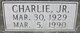 Profile photo:  Charlie Abraham, Jr