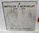 Mathilda <I>Zeringue</I> Berthelot