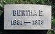 Bertha E. <I>Kinsey</I> Owens