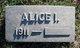 Alice I. Owens