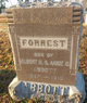 Profile photo:  Forrest Ernest Abbott