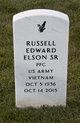 """Russell Edward """"Russ"""" Elson"""