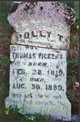 """Mary T """"Polly"""" <I>Moore</I> Vickers"""