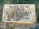 Mary Etta <I>Miller</I> Sharpe