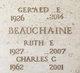 Profile photo:  Charles Collins Beauchaine