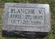 Profile photo:  Blanche V <I> </I> Annis
