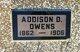Profile photo:  Addison D. Owens