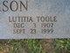 Lutitia <I>Toole</I> Anderson