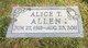 Alice <I>Mason</I> Allen