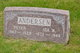 Ida Wilhelmina <I>Anderson</I> Andersen