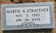 Martie Ann <I>Webster</I> Stracener