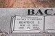 Beatrice S Baca