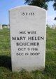Profile photo:  Mary Helen <I>Marr</I> Boucher