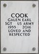 Galen Earl Cook