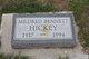 Profile photo:  Mildred Blanche <I>Bennett</I> Hickey