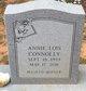 Annie Lois <I>Poe</I> Connolly