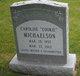 "Profile photo:  Caroline ""Cookie"" Michaelson"