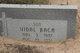 Vidal Baca