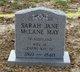 Sarah Jane Jane <I>Campbell</I> May
