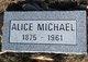 Profile photo:  Alice Michael